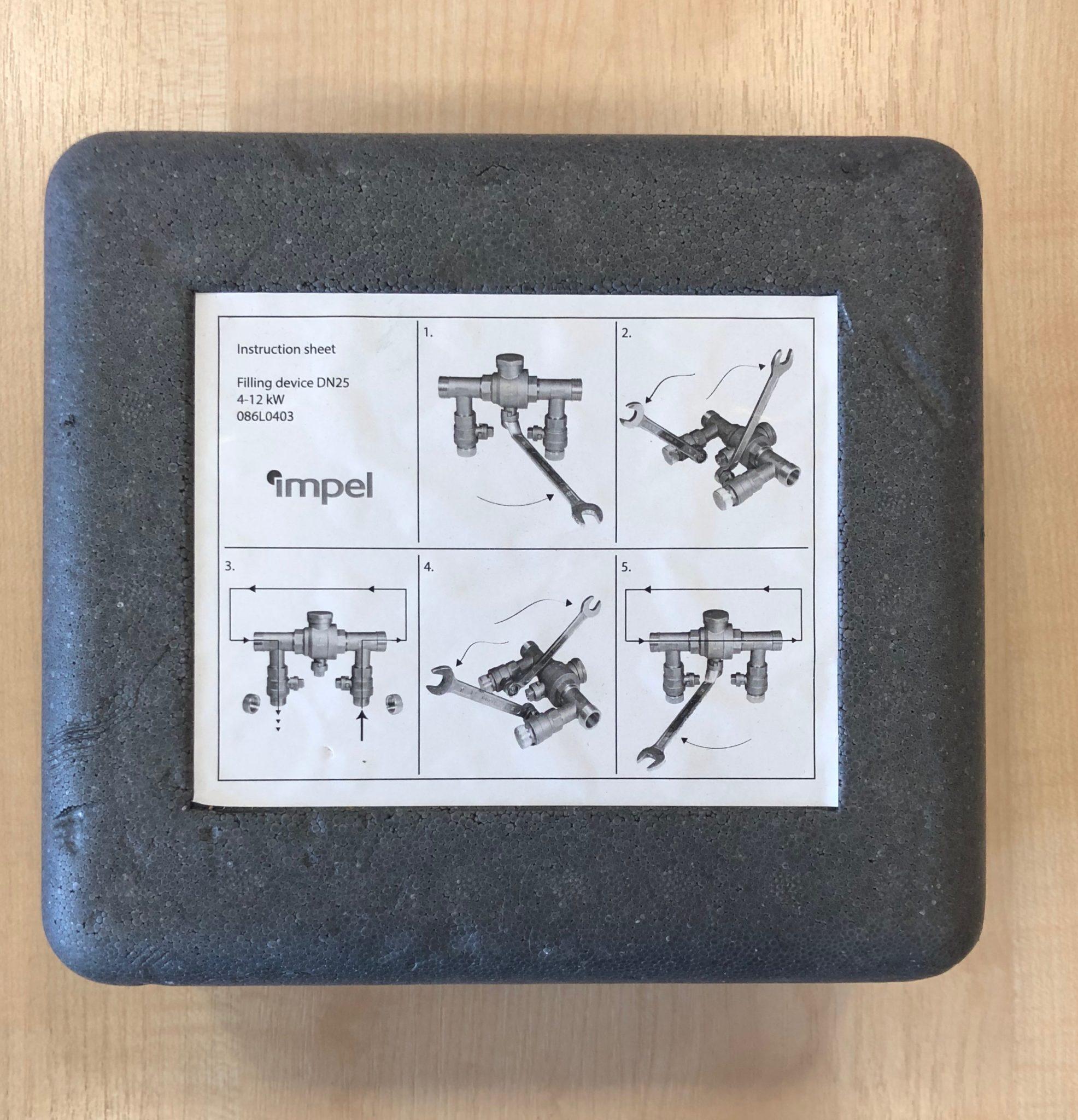Maakontuuri täitesüsteem-kraan-filter DN 25