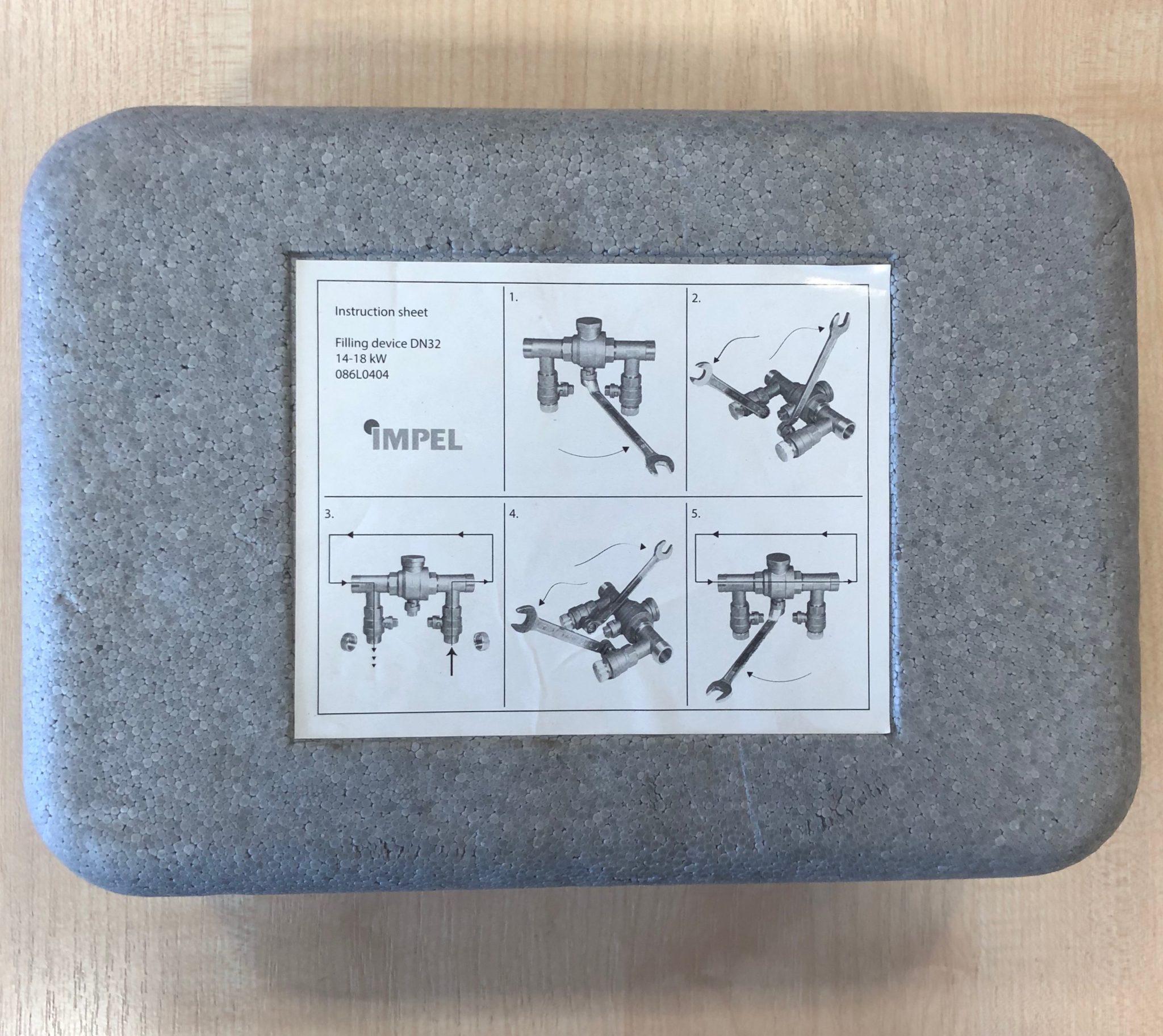 Maakontuuri täitesüsteem-kraan-filter DN 32