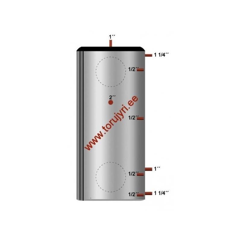 Isoleeritud akumulatsioonipaak 1061L ø 1100 niplitega (Toru-Jüri)